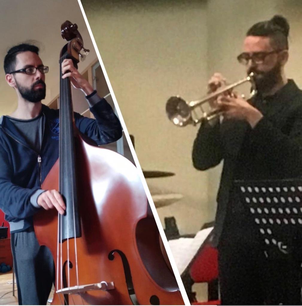 Vittorio, insegnante di contrabbasso,  tromba